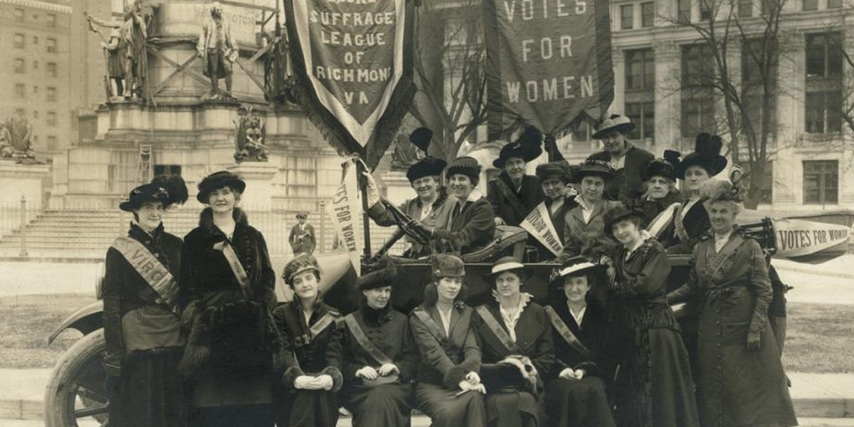 On This Day: The League of Women Voters in Virginia organized in 1920