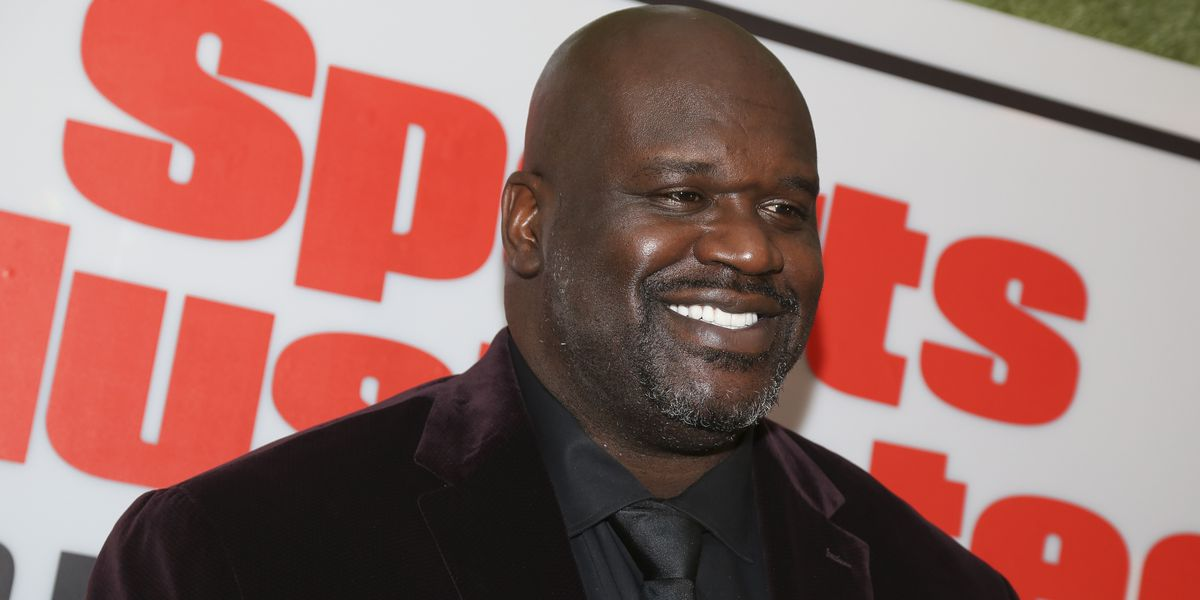 Shaq says he just voted for the first time