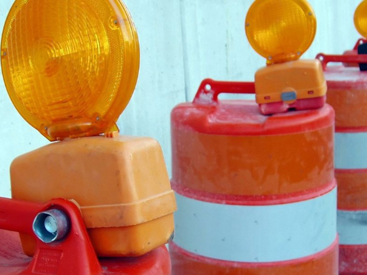 Multiple lane closures expected on southbound Powhite Parkway