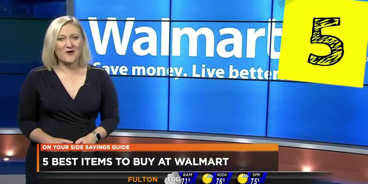 5 best items to buy at Walmart