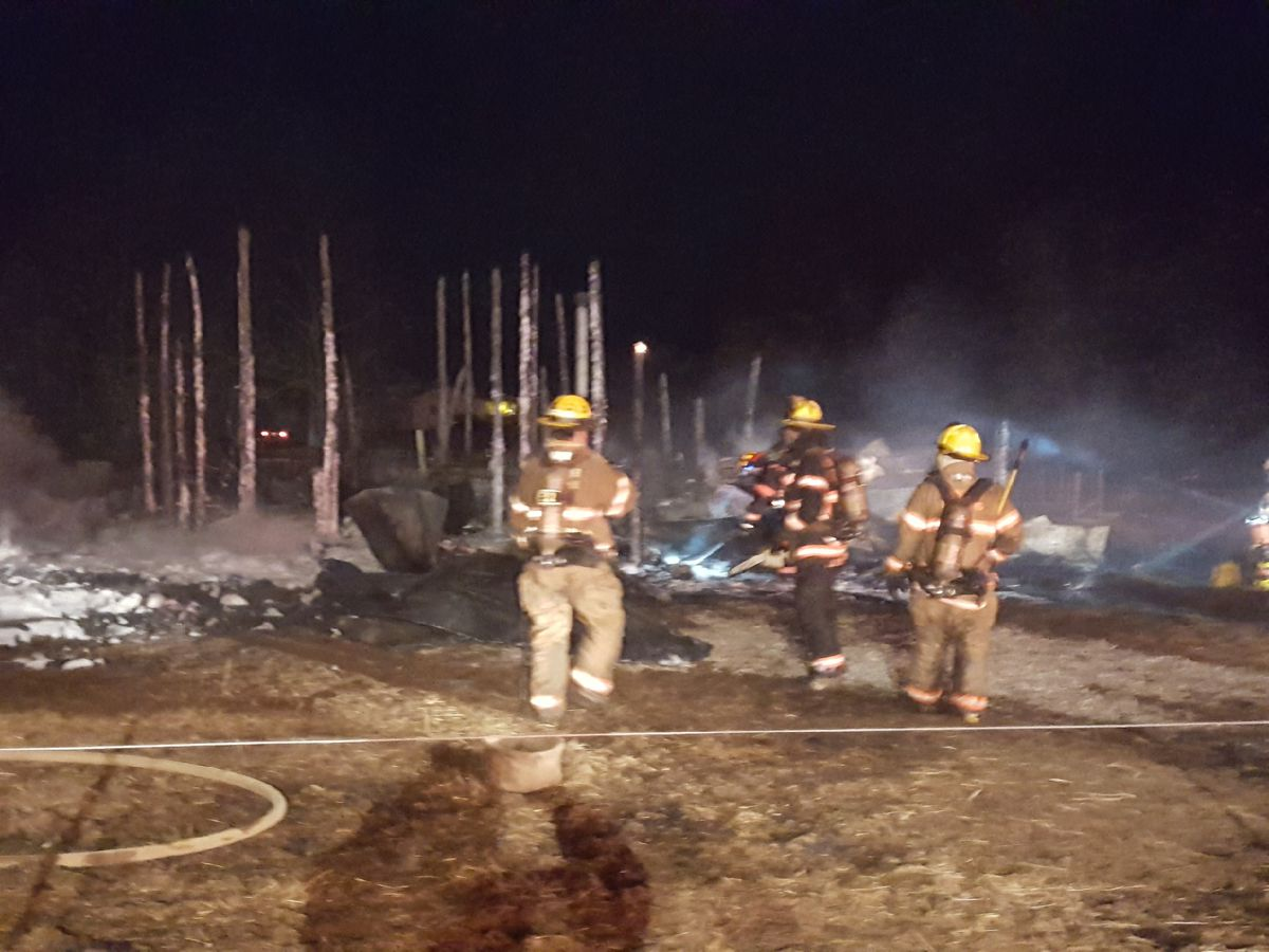 2 horses killed in early morning barn fire