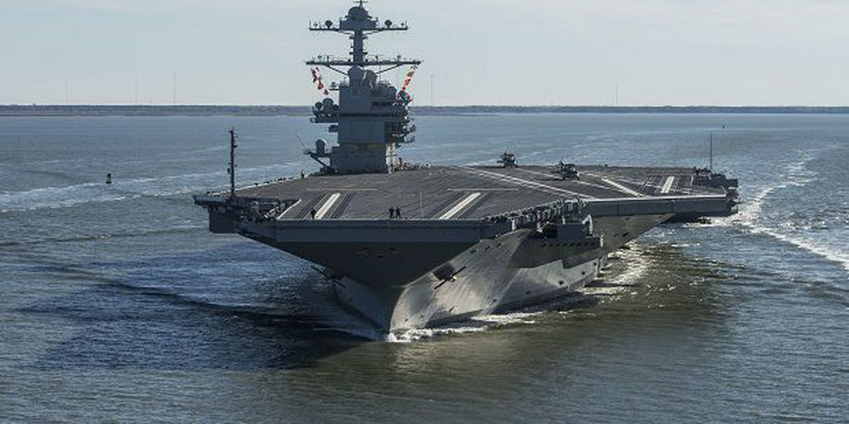 All Sailors On US Aircraft Carrier To Be Tested For