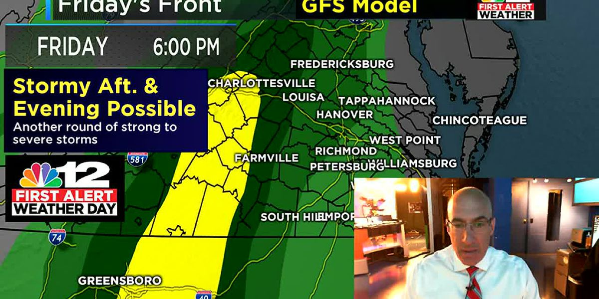 First Alert Weather Day: Severe weather possible Friday
