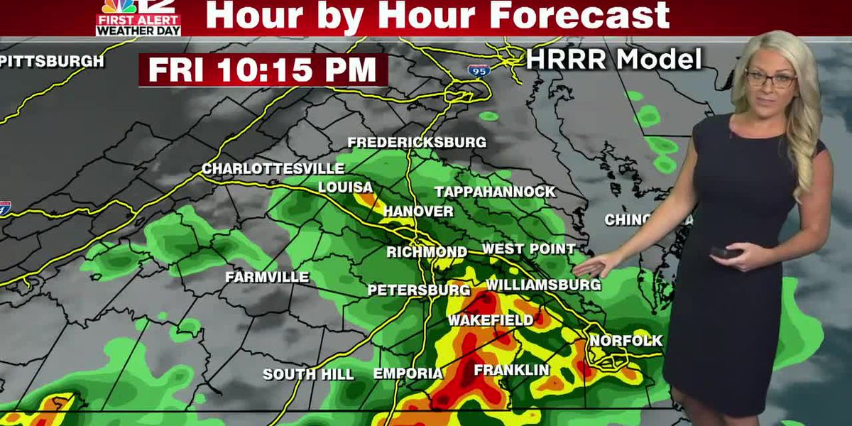 Forecast: Few strong storms Friday evening possible