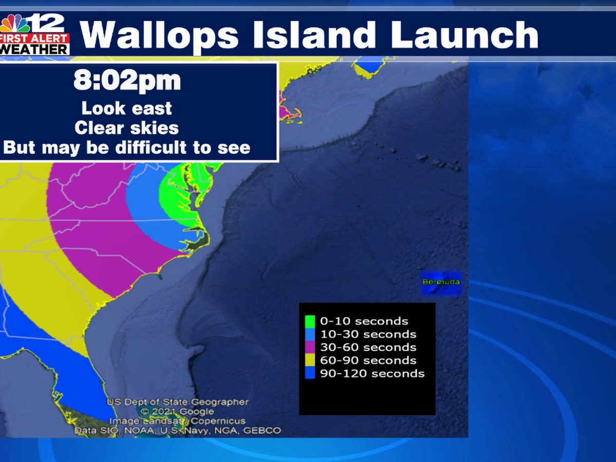 Wallops Island rocket launch postponed until at least Sunday evening