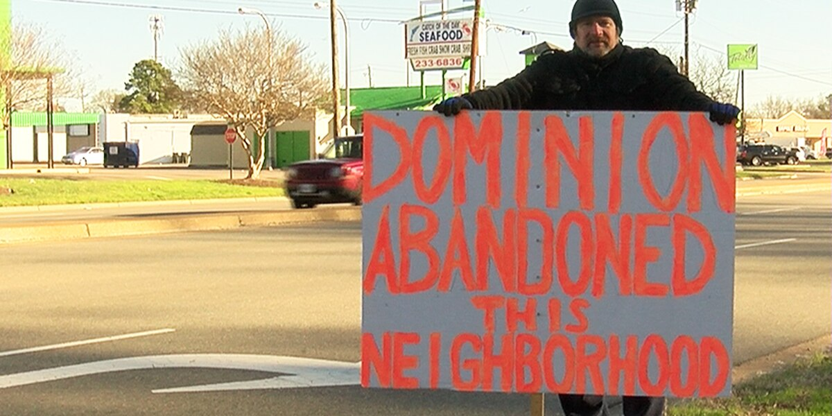 Man frustrated with power outages says Dominion 'abandoned' neighborhood