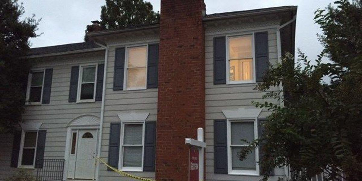 Lightning bolt shatters Henrico home's chimney during severe storms