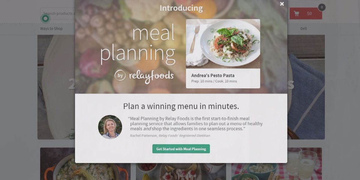 Relay Foods now offers meal planning
