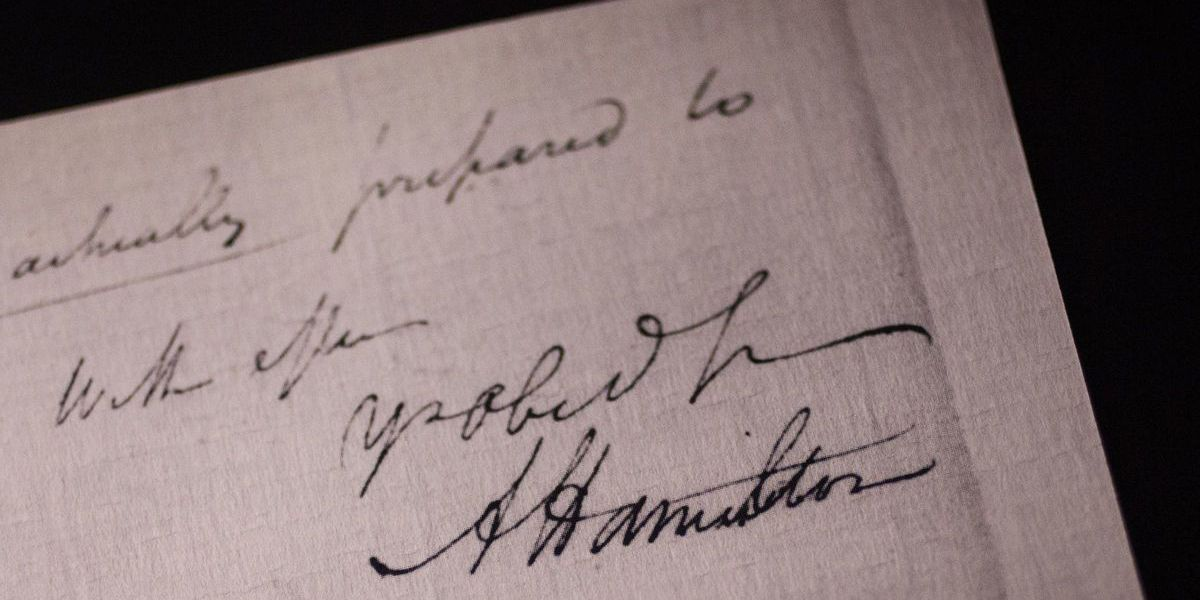 Virginia museum to auction off letter by Alexander Hamilton
