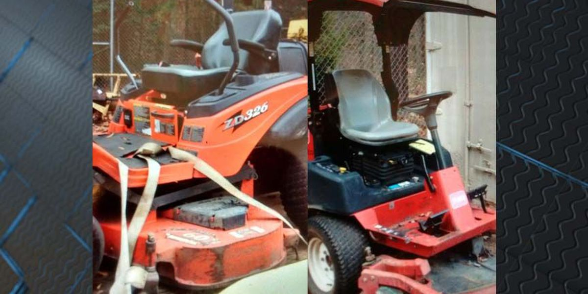 Thieves steal $37K worth of mowers from Chesterfield Parks
