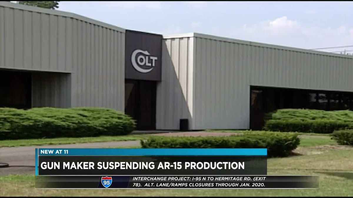 Gun maker suspends AR-15 production