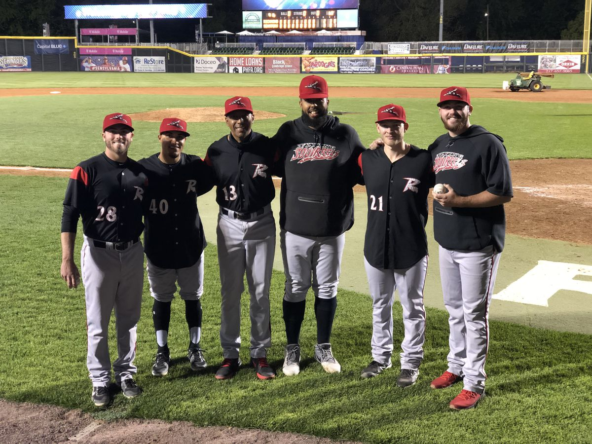 Four Flying Squirrels combine for team's first nine-inning no-hitter