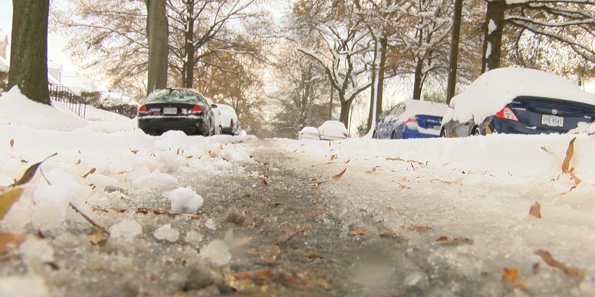 Crews to begin work on Richmond's slushy side-streets
