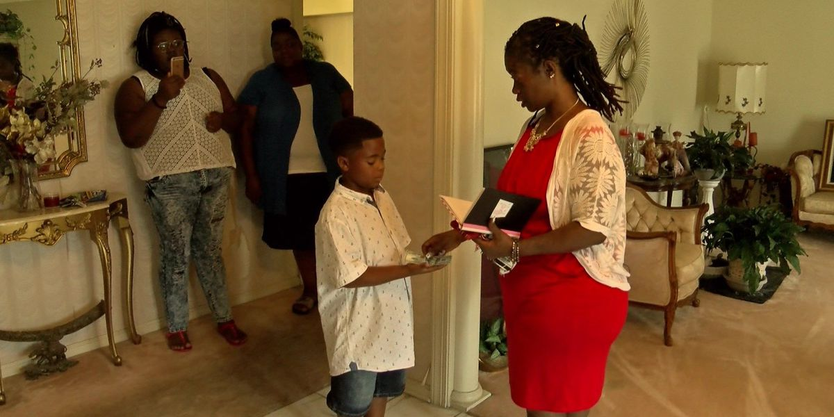 Acts of Kindness: Eight-year-old's bookbag foundation