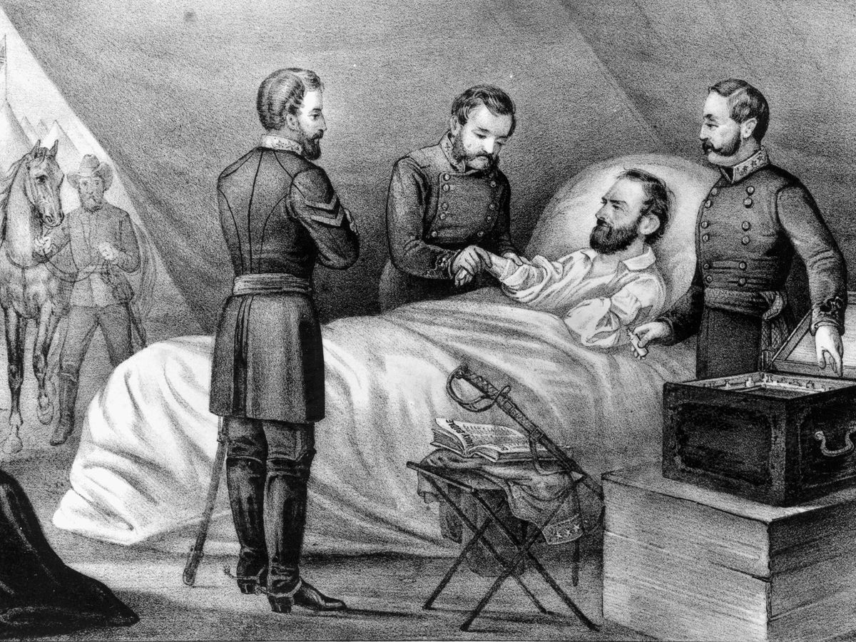 On this day: General Stonewall Jackson dies 8 days after being shot in battle