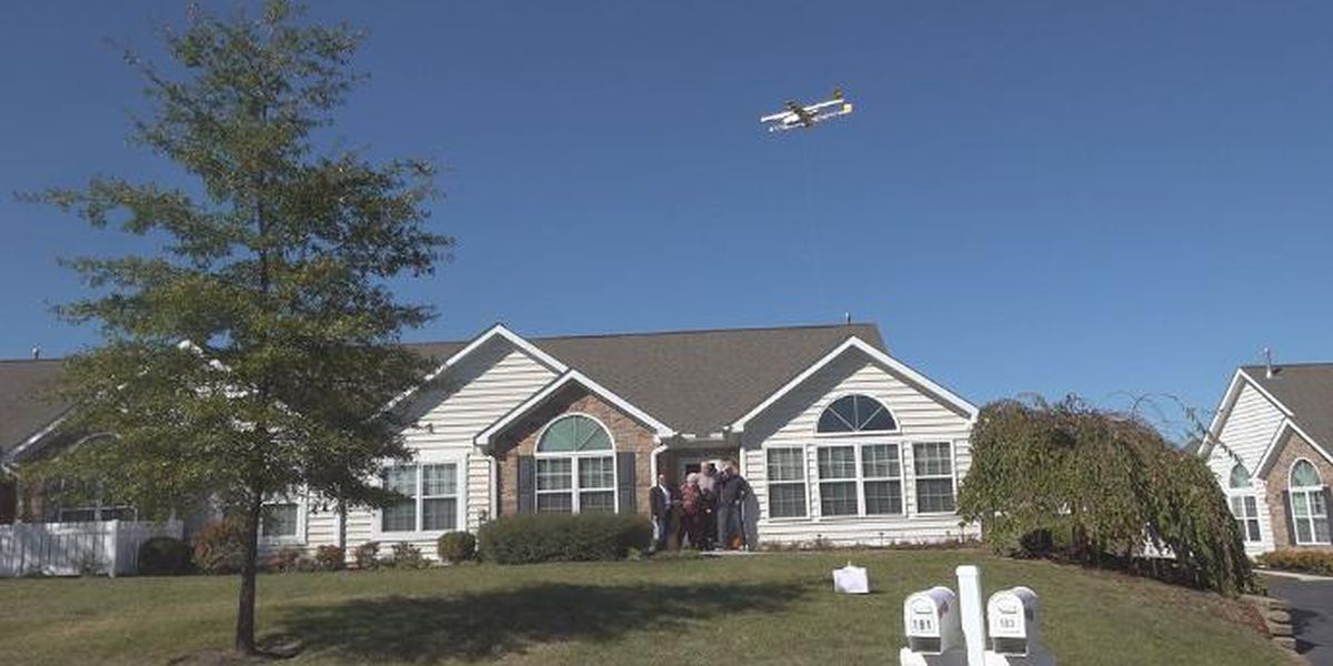 Drone delivery service launches trial in southwest Va.