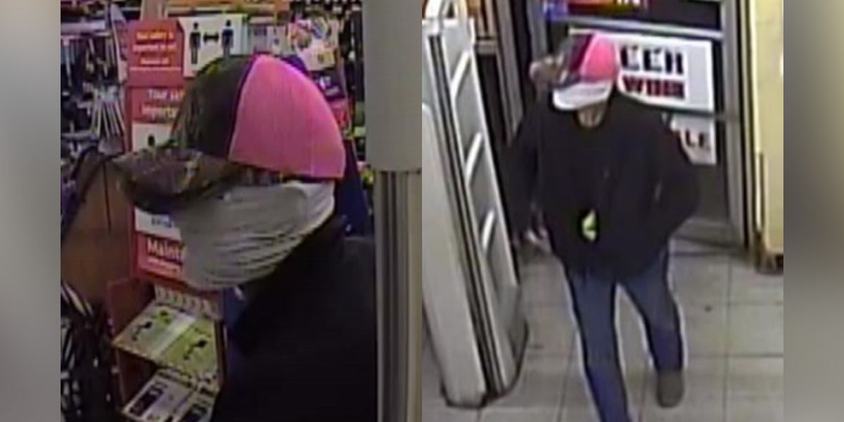Police searching for man accused of robbing business with handgun