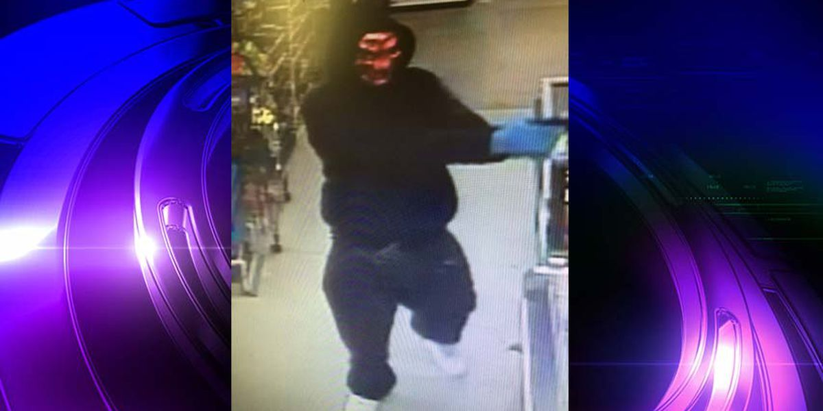 Suspect wearing clown mask robs Hopewell supermarket