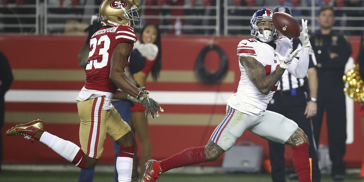 Giants' Beckham to miss 2nd straight game with quad injury