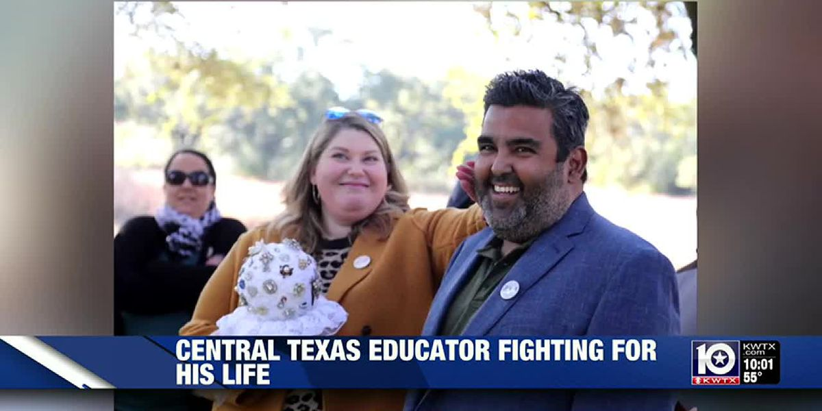 Texas high school teacher fights for life after COVID-19 diagnosis