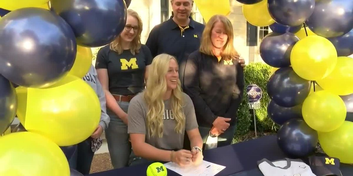 Glen Allen's Aiken commits to Michigan