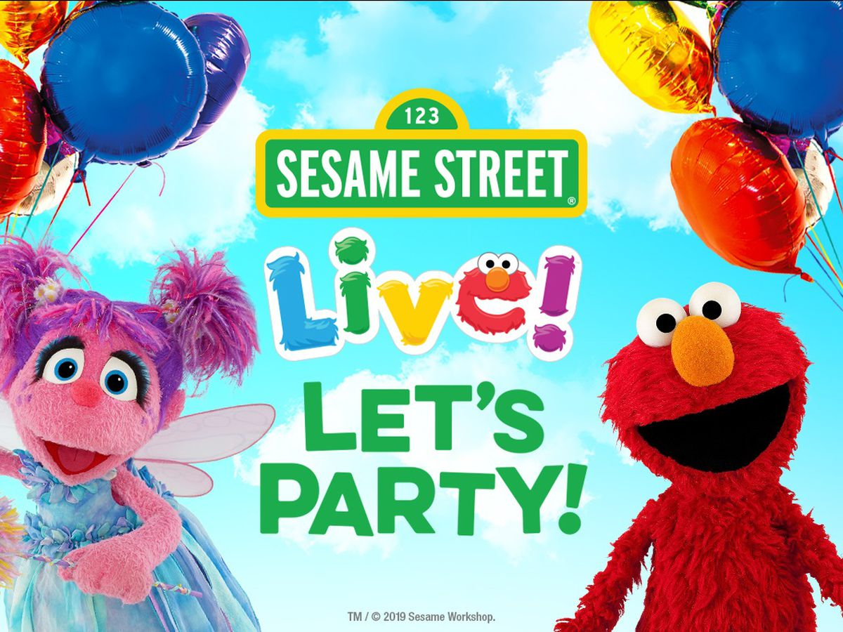 Tickets on sale for Sesame Street Live! Let's Party!