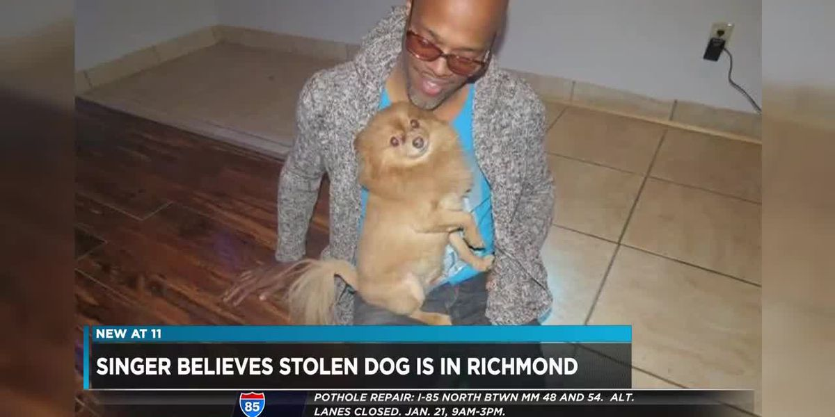 R&B singer says pet stolen from Las Vegas home, taken to Richmond
