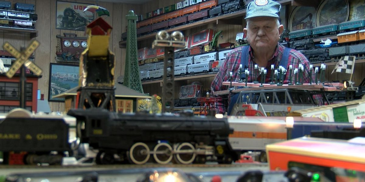 Chesterfield man's 70-year-old train collection has over 300 sets