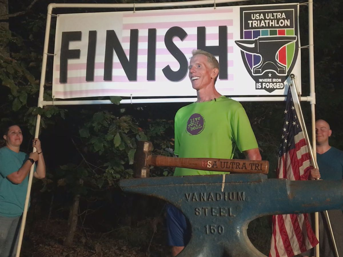 Richmond ultra-athlete breaks world record at 60