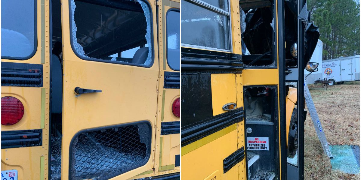 'I don't know why they targeted us': Vandals destroy Chesterfield church bus