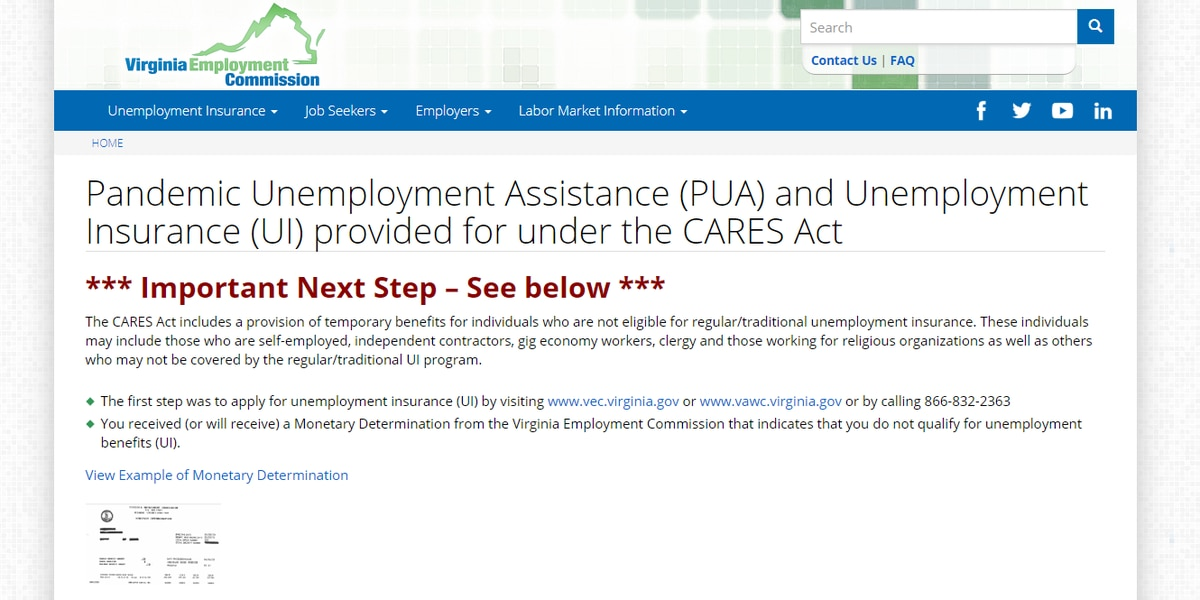 Virginians experience issues when applying for unemployment