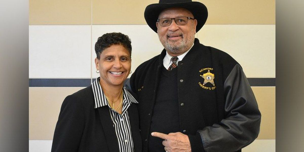 Transition to new sheriff begins in Richmond