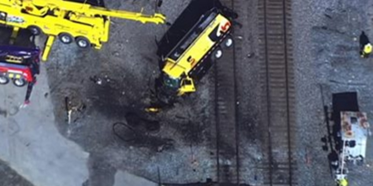 No one injured as Amtrak train crashes into tanker near Quantico