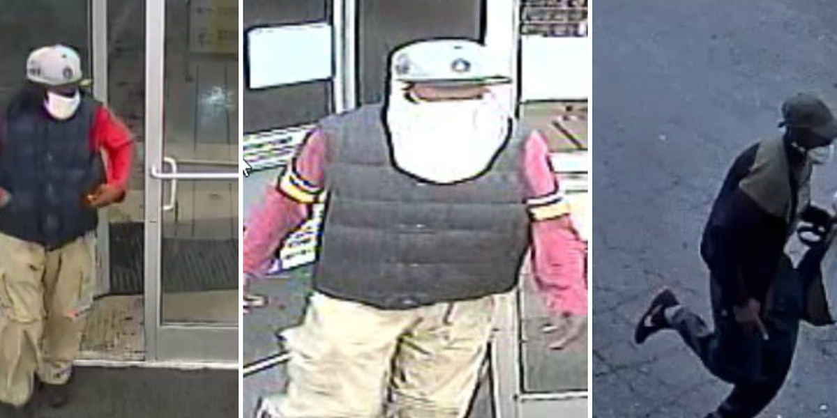 Police searching for man involved in several Richmond robberies