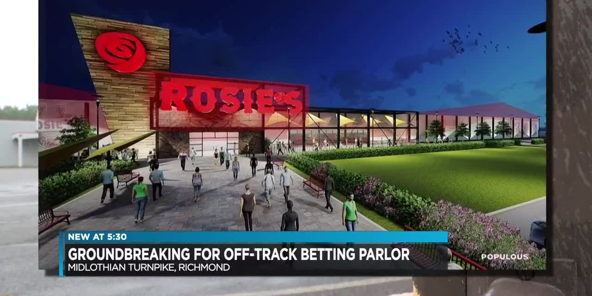 Colonial Downs starts construction on off track betting site