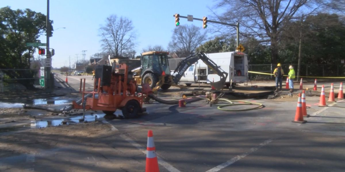Major water main break could take a week to fix