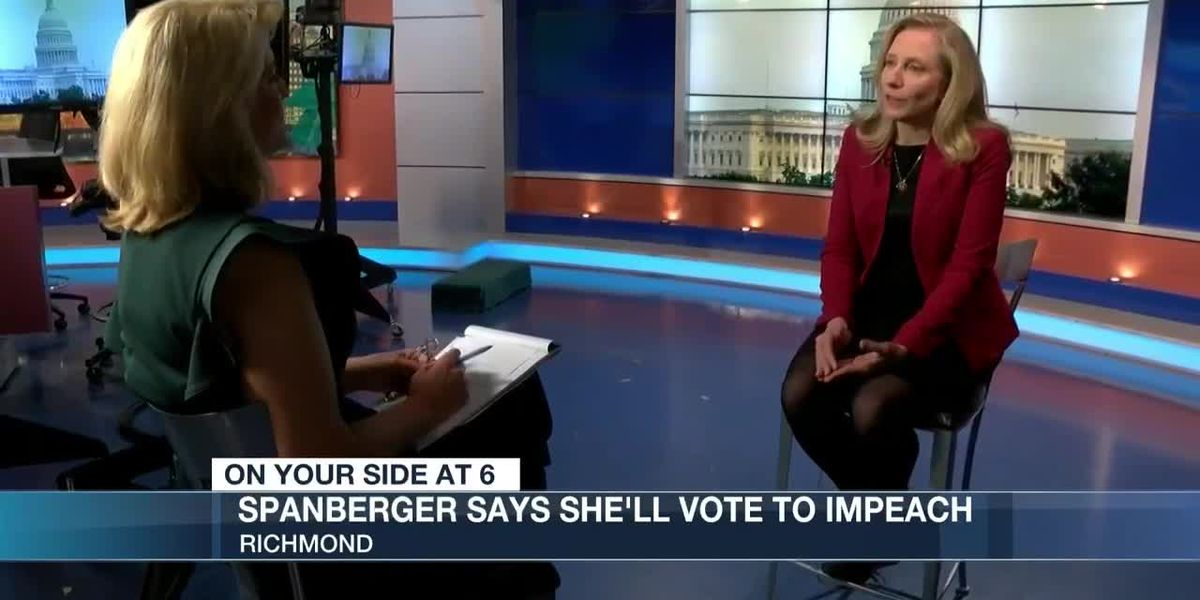 Rep. Spanberger says she'll vote to impeach President Trump