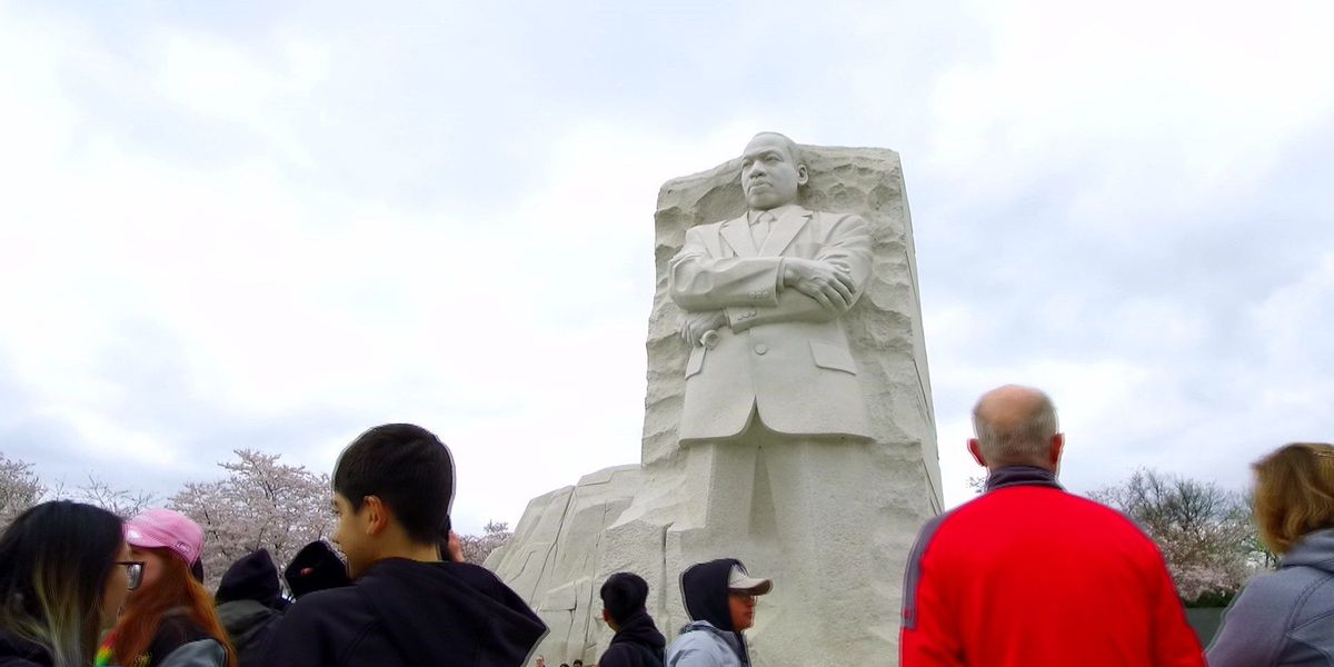 MLK Memorial visitors reflect on past and future of civil rights