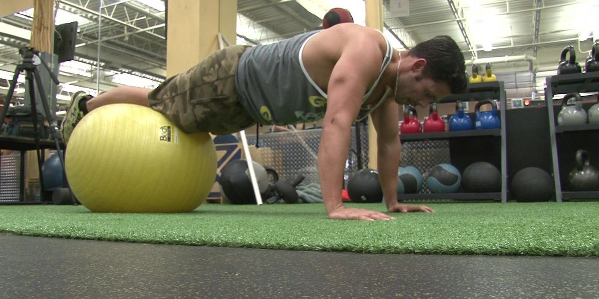 Henrico man training to break World Record for 'burpees'