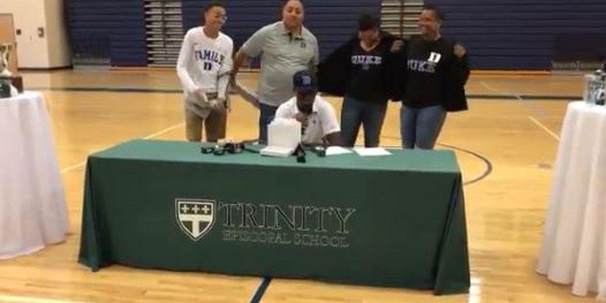 Trinity's Coleman commits to Duke