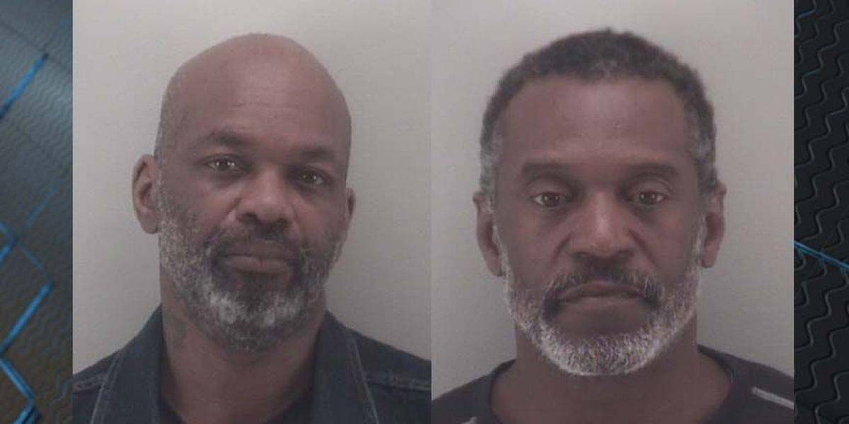 Police arrest 2 men after woman shot during robbery on Lamb Avenue