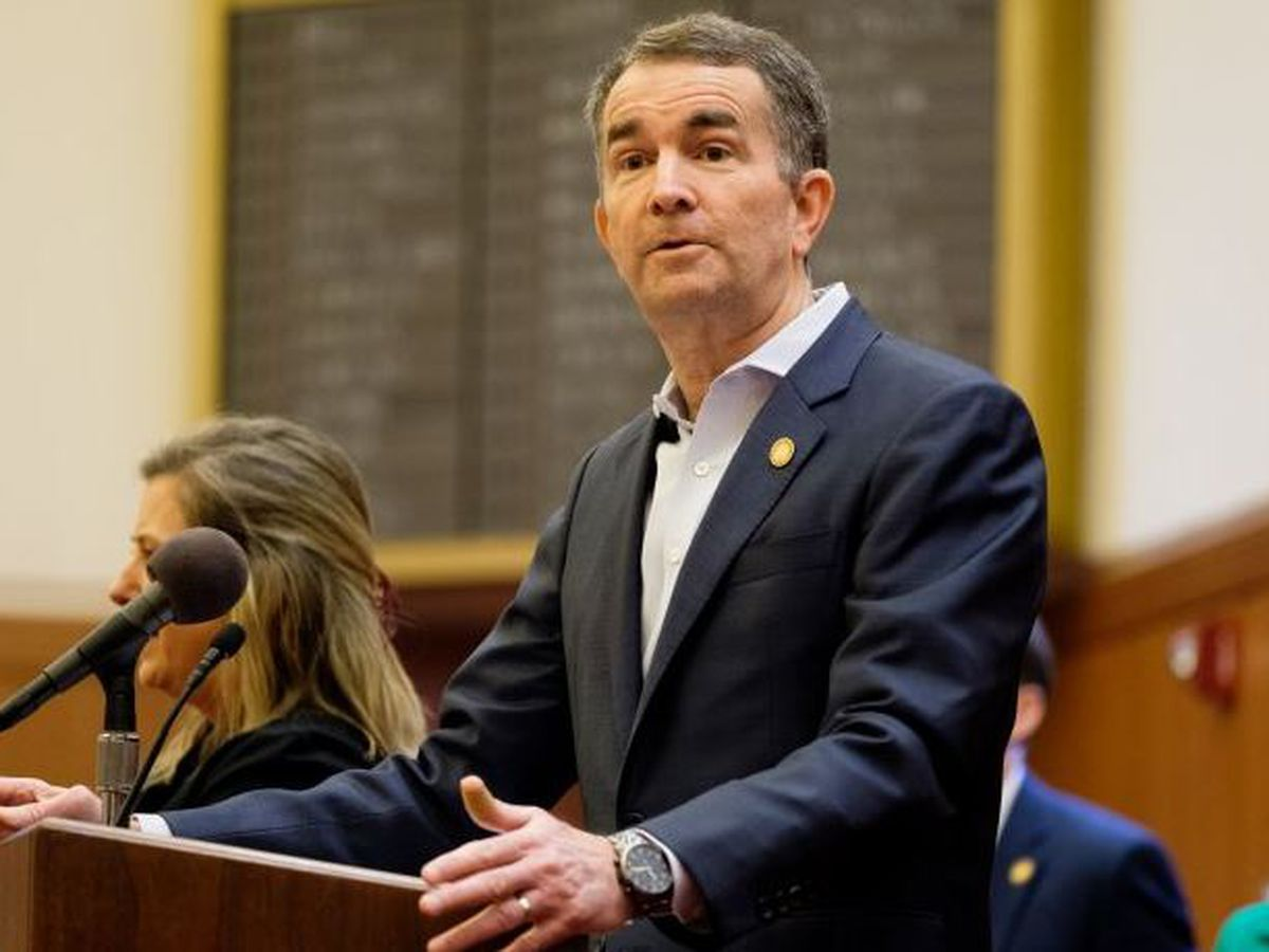 Governor Northam ditches ties, citing infectious pathogen risk
