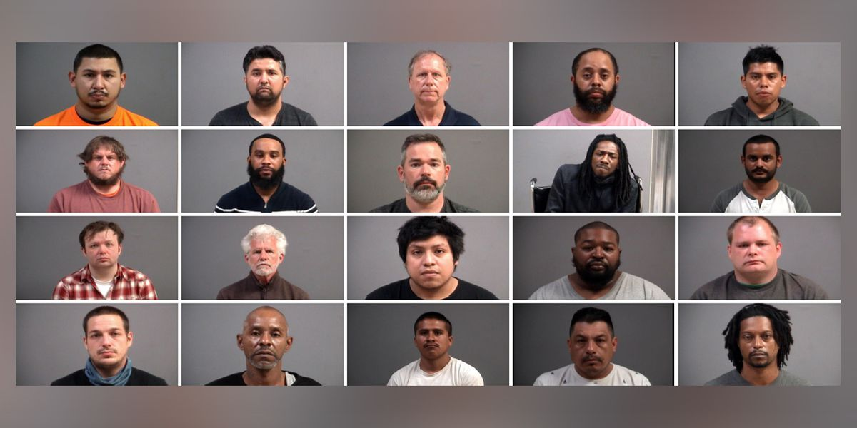 Police: 20 people arrested for soliciting sex from minors online, social media in Chesterfield