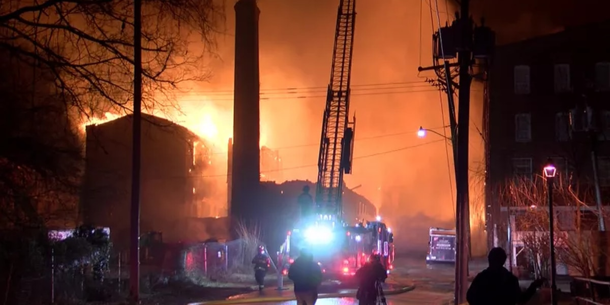 Community rallies for victims of massive Petersburg fire