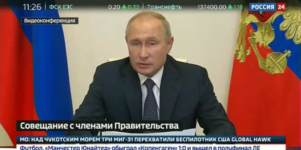 Putin announces Russian coronavirus vaccine