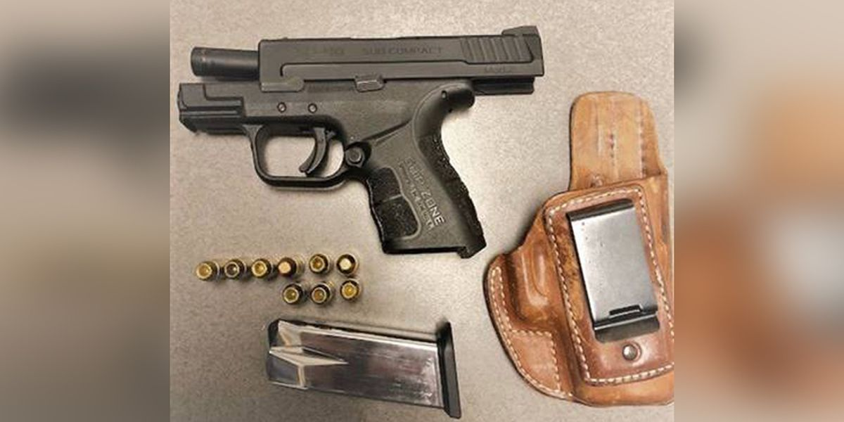 TSA finds loaded handgun in man's carry-on bag at Norfolk International Airport
