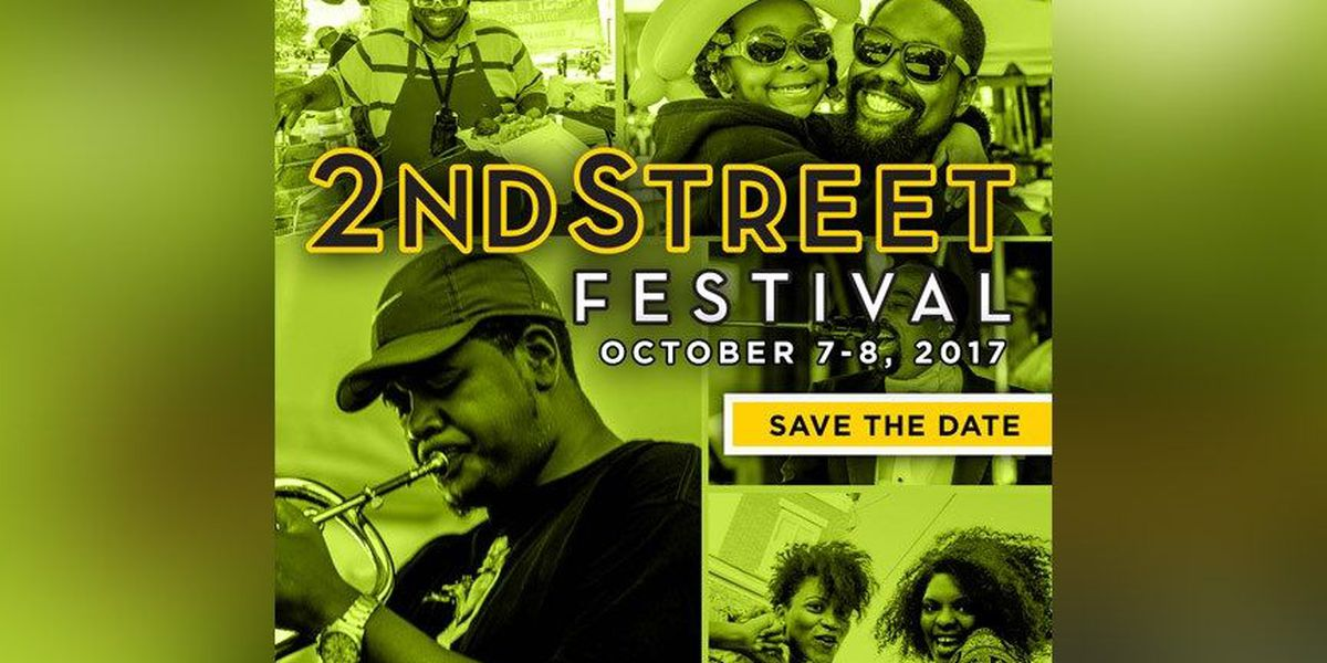 Several streets to be closed for 2nd Street Festival