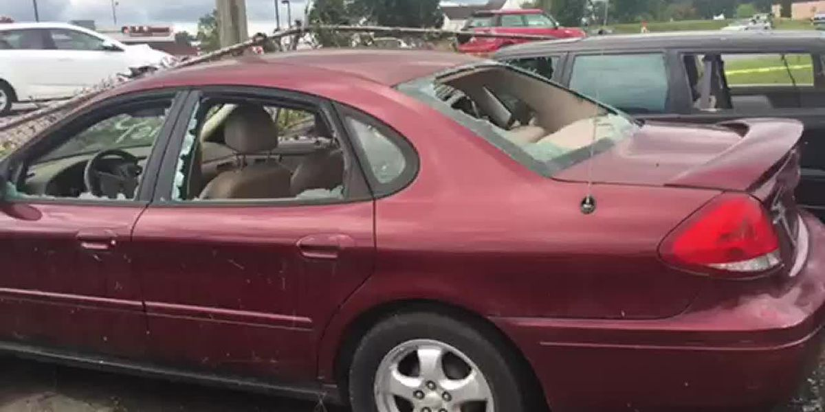 Tornadoes cause major damage to cars, businesses