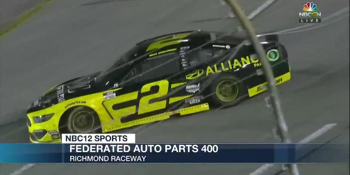 Keselowski dominates for checkered flag at Richmond Raceway