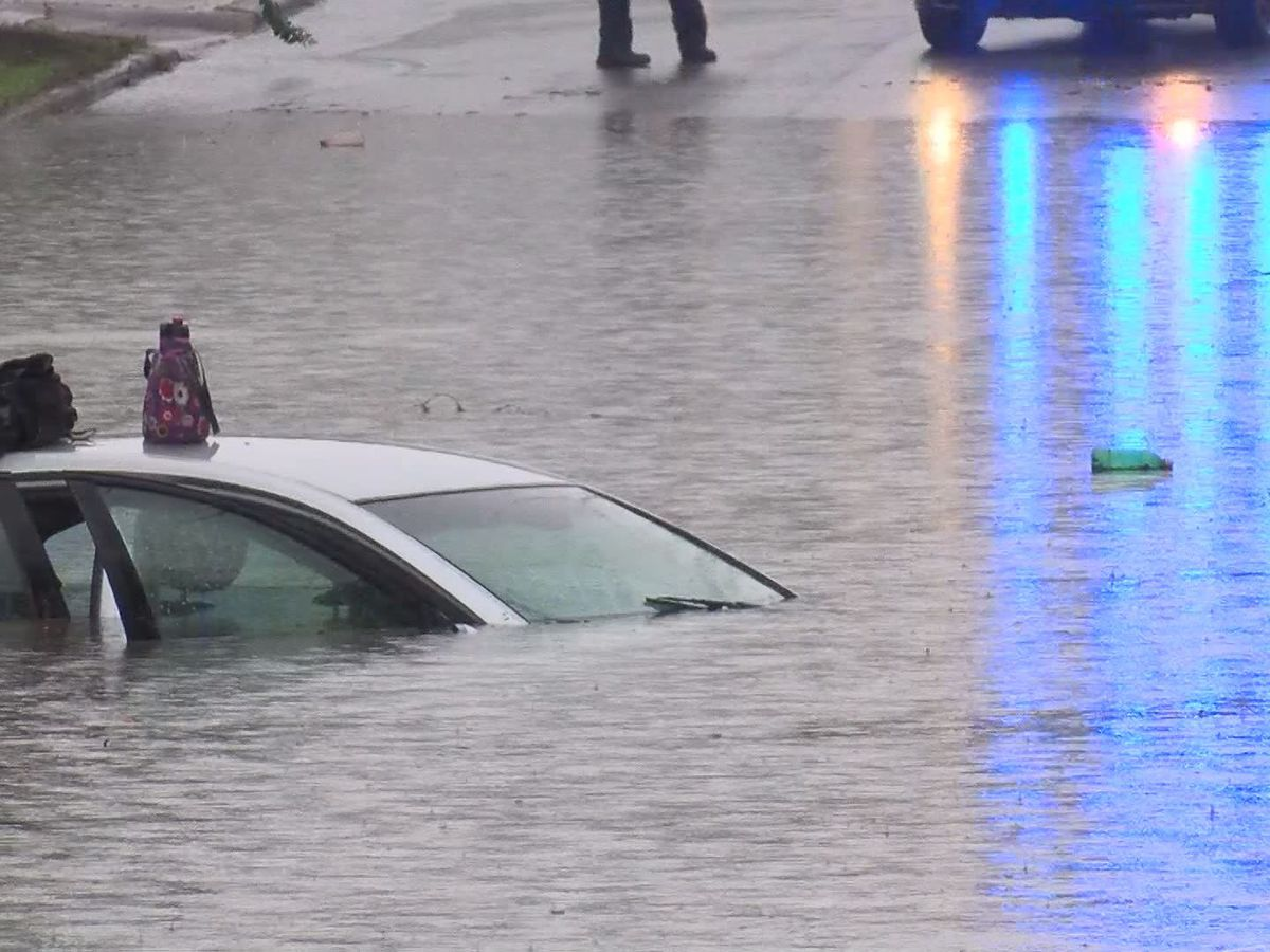 Flooded roads expected Tuesday morning, officials say avoid driving if you can
